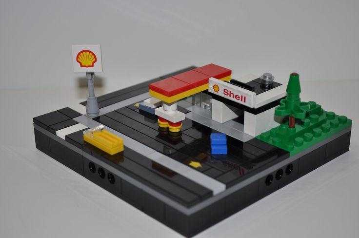 die besten 25 lego tankstelle ideen auf pinterest lego. Black Bedroom Furniture Sets. Home Design Ideas