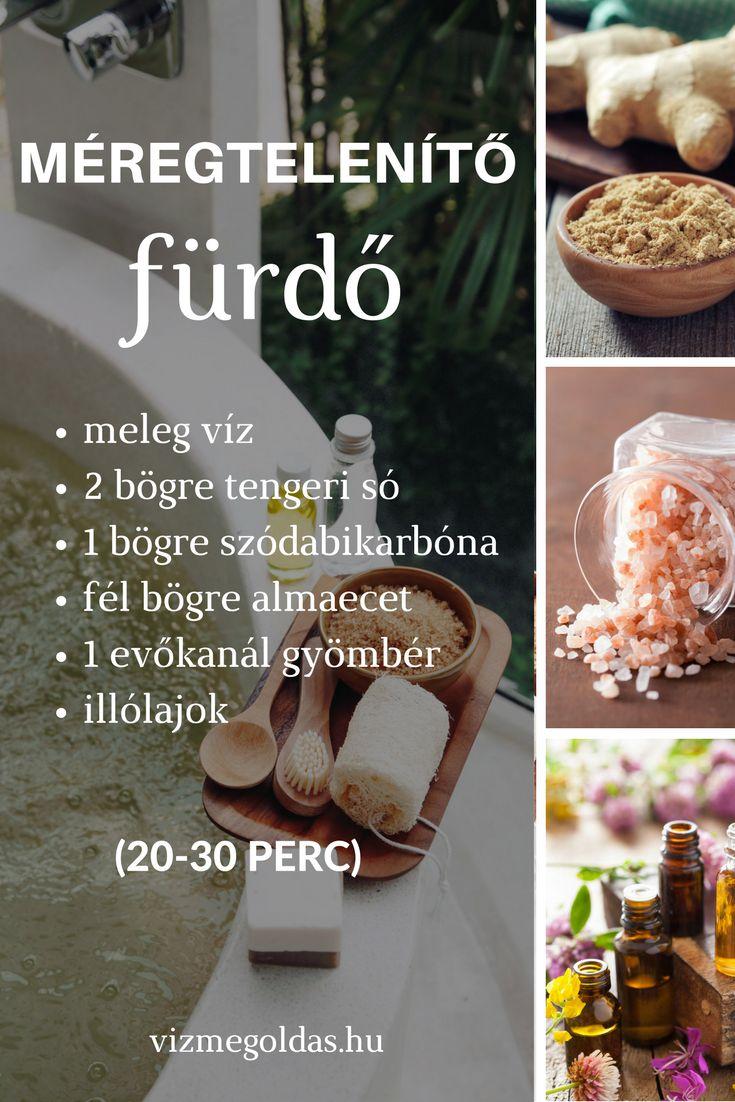 Egészséges életmód - Méregtelenítő fürdővíz recept