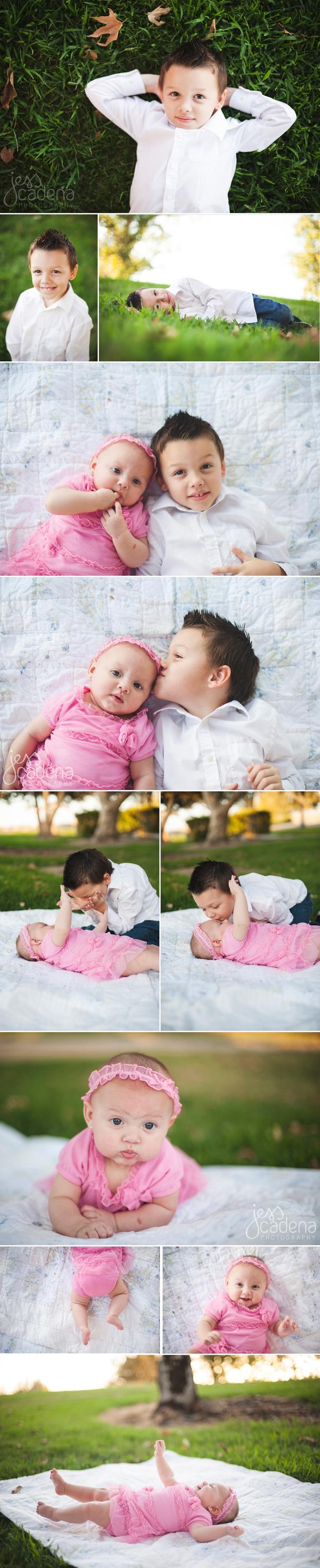 Brother & Sister portraits | Jess Cadena Photographer