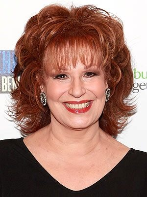 Joy Behar, 1942 comedian, actress, writer, talk show host.