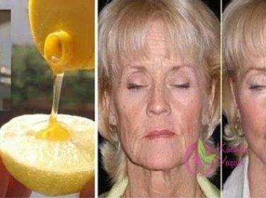 Limon ve bal tedavisi ile 10 yaş gençleşme tarifi