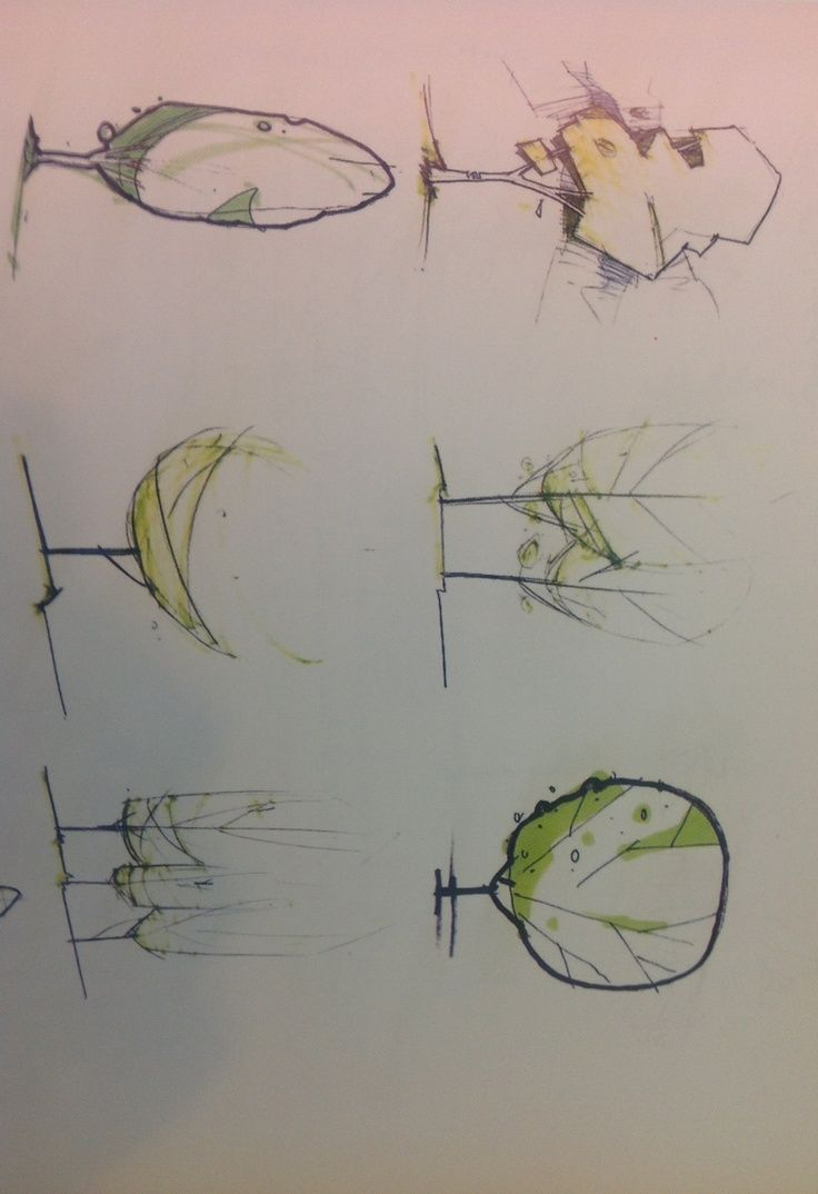 trees rendering markers
