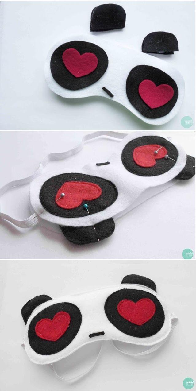 Or a panda sleep mask with heart eyes. Or an owl one..