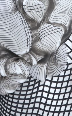 Noa Raviv | Hard Copy collection | 3D Printed fashion (detail)