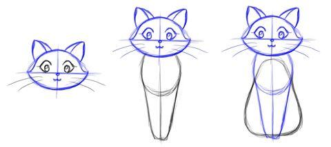 caturday: aprendé a dibujar un gatito!!! - Taringa!