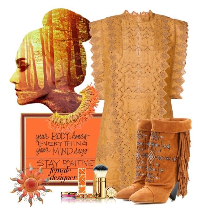Stay positive. Inspiration-Isabel Marant by valeriac on Polyvore featuring polyvore fashion style Isabel Marant WALL Tory Burch clothing internationalwomensday pressforprogress FemaleDesigners ByWomenForWomen