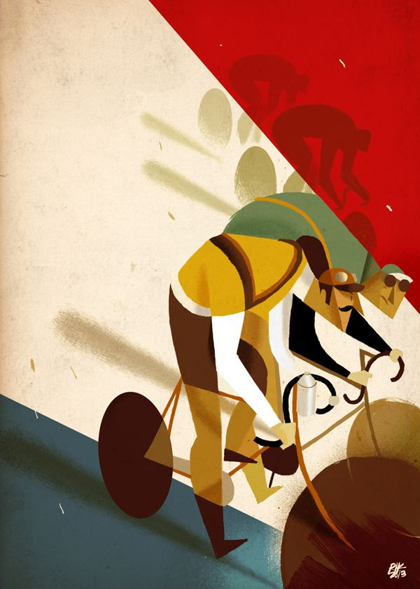 La Centième Prints by Riccardo Guasco, via Behance