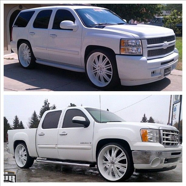 Custom Chevy Tahoe W Gmc Front End Pickup Truck Truckz R Us Pinterest Trucks And Cars