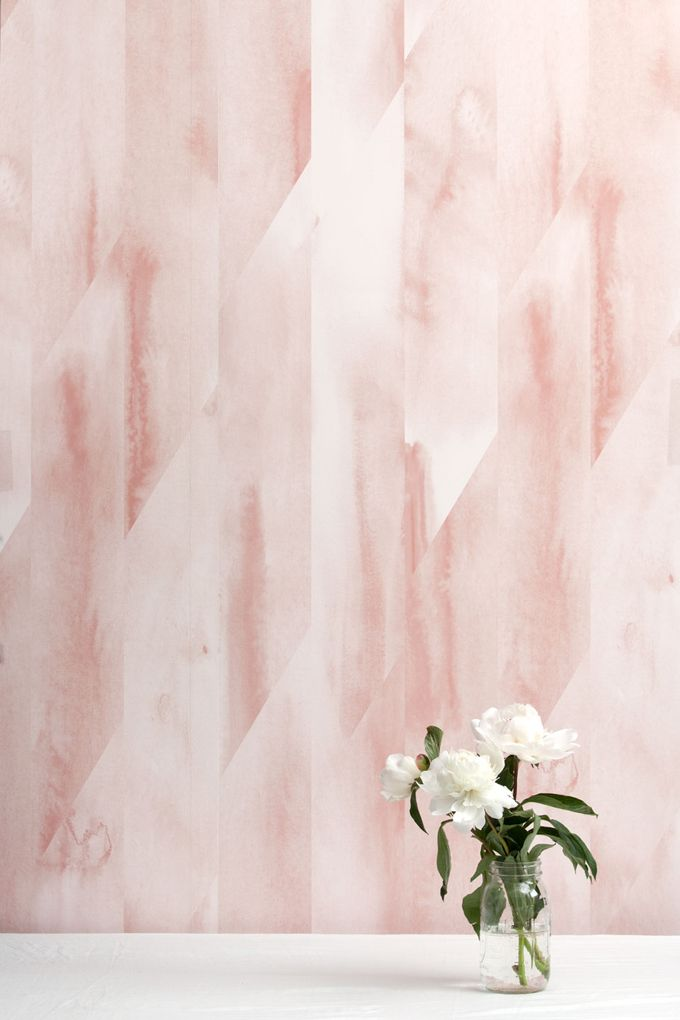 Shell Pink is printed with pink, and off white inks. It is ...