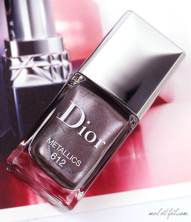 Dior Metallics Herbstkollektion 2017 • Le Vernis Metallics