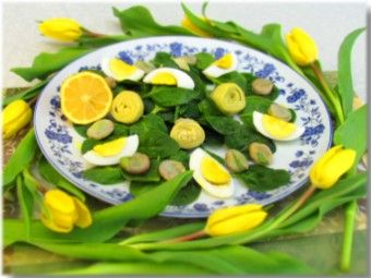 Easter salad Tuscan style