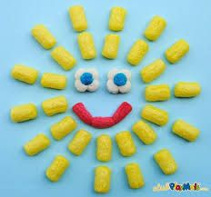 Zadanie dla młodszych - słoneczko z Playmais