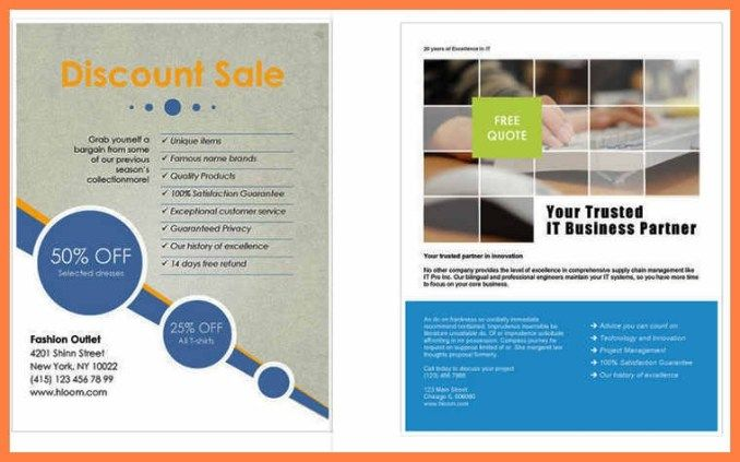 Microsoft Office Flyer Templates For Word Togowpartco Free Brochure Template Business Flyer Templates Free Flyer Templates