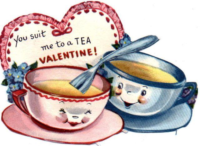 Valentine: Vintage Valentines, Teas Cups, Vintage Wardrobe, Vintage Teas, Valentines Cards, Teacups, Teas Parties, Valentines Day Cards, Vintagevalentine