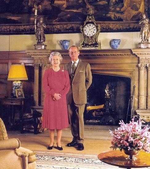 Sandringham House Queen Elizabeth Ii And Prince Phillip