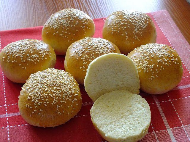 z cukrem pudrem: bułki do hamburgerów (i nie tylko)