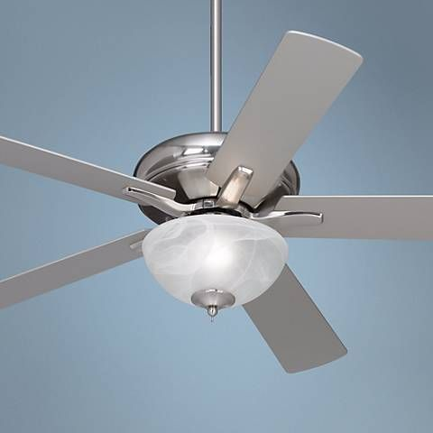 """52"""" Casa Vieja Journey Brushed Nickel with Light Ceiling Fan - #M2750-T4201 