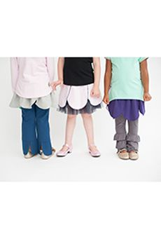 Peekaboo Beans - Petal Perfect Skirt - The perfect PLAY piece, great for layering over pants or skirts! The Petal Perfect Skirt is reversable, giving your bean even more options everyday! | Available in two colours - sizes 2 - 7 | www.peekaboobeans.com