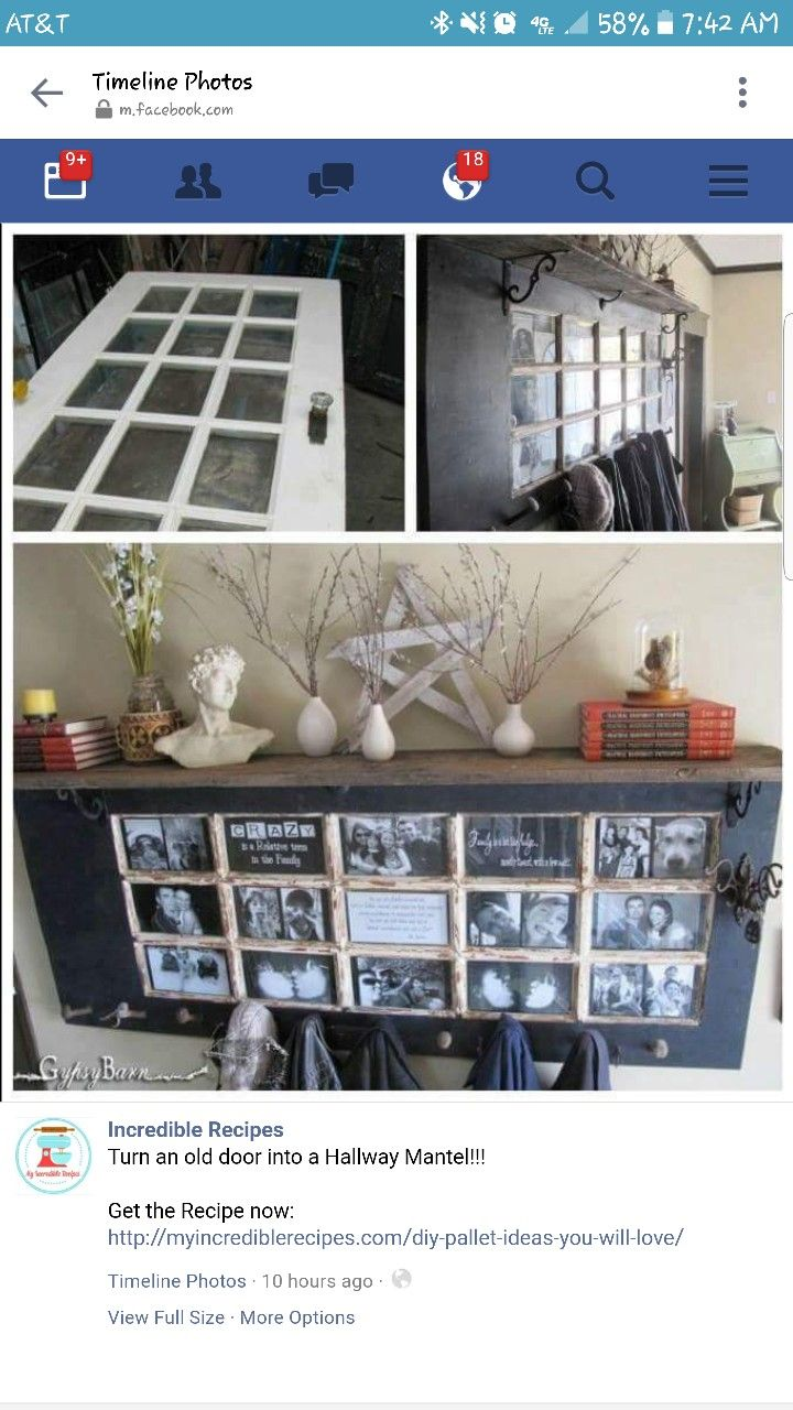 Hallway door options  French Door Picture Frame Lots of fun to do together as a family