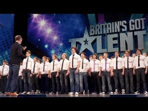 133 boys, 1 beautiful song:)  Only Boys Aloud - The Welsh choir's Britain's Got Talent 2012 audition - International version