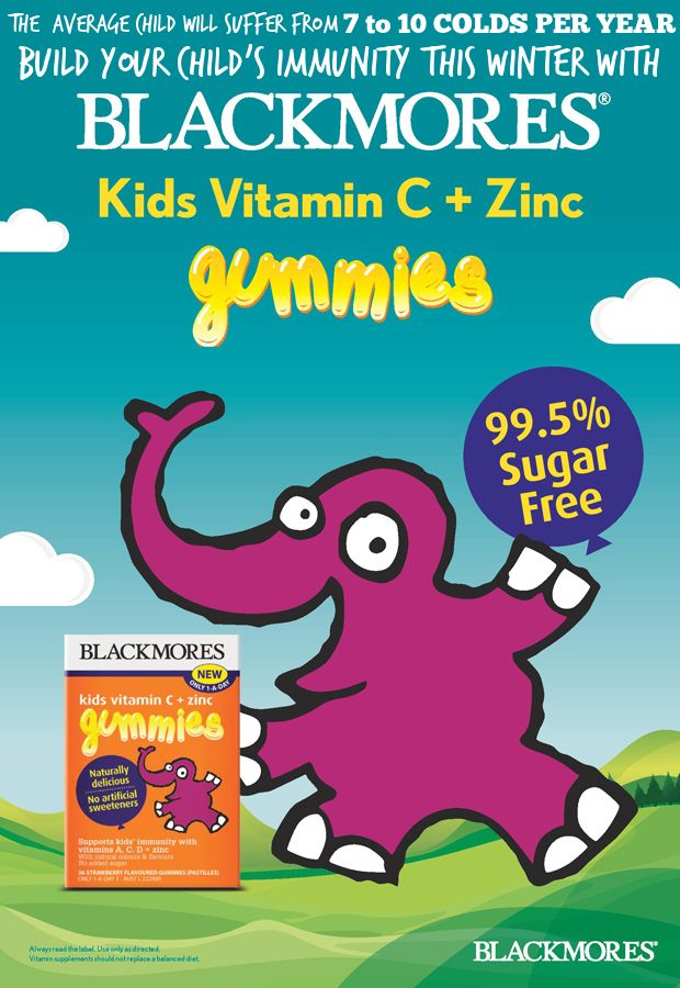 Protect your kids this winter with FREE Blackmores Kids Vitamin C + Zinc Gummies!   WE HAVE 20 SAMPLES LEFT!! Every yummy gummy is 99.5% sugar-free and has no artificial flavours, colours, or sweeteners.   Please fill out the form here http://tinyurl.com/freeblackmores to get your free sample. Grab yours now xx