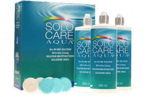 SOLO CARE AQUA 3 x 360 ml - Pflegemittel