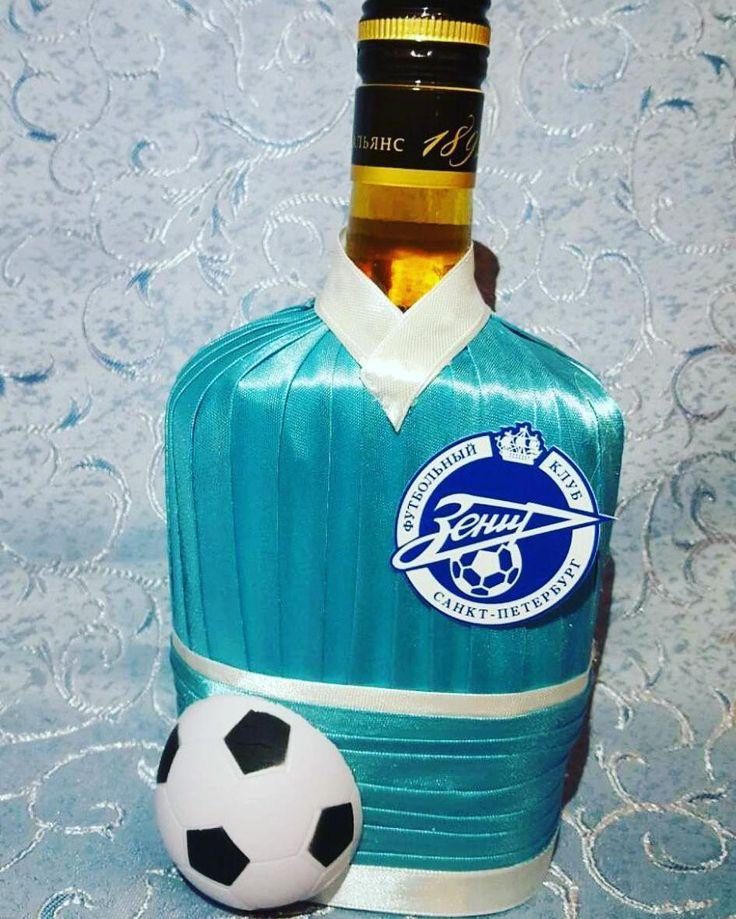 22 отметок «Нравится», 1 комментариев — GAlina Gavrilova (@galina273) в Instagram: «Зенит-чемпион) в подарок на 23февраля для фаната нашей футбольной команды #декорбутылокпитергалина…»