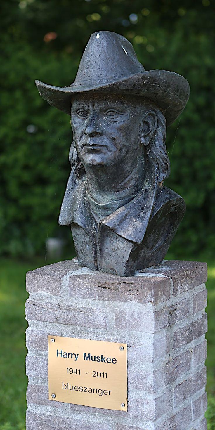 Op 31 oktober 1977 wordt in Grolloo,tegenover restaurant Hofsteenge,het borstbeeld van Harry Muskee onthuld. Mus die met zijn band de bluesmuziek,en Drenthe op de kaart zette.