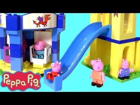 Peppa Pig House Mega Blocks Construction Set - Peppa Pig Toys Episodes English| TheChildhoodlife - YouTube