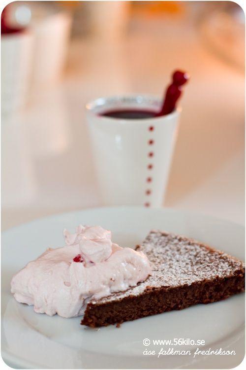 Pepparkakskladdkaka (gekleidet Gingerbread)