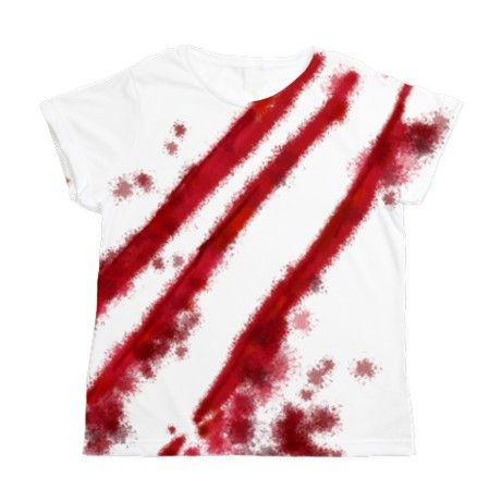 Slash Womens All Over Print T-Shirt on CafePress.com