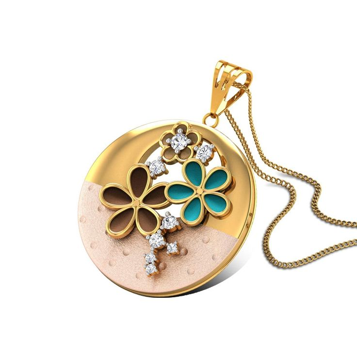 59 best gold cz pendants images on pinterest gold pendant gold leonore gold pendant aloadofball Image collections