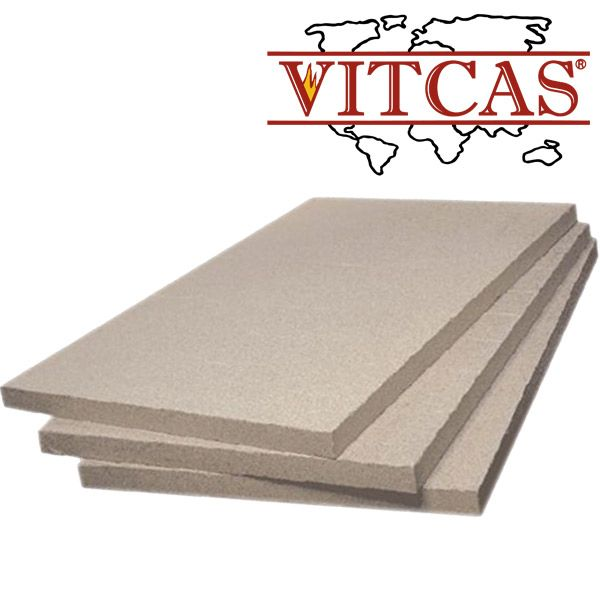 Vermiculite Fireproof Boards  Vermiculite board is made from a naturally occurring aluminium-magnesium silicate layer that has been already expanded with the application of heat. This expansion process is called exfoliation and the resulting material is used in bulk form or processed to boards by a press forming process. The board can be worked easily with wood working tools. It can be sawn, drilled and sanded.  http://www.vitcas.com/vermiculite-boards