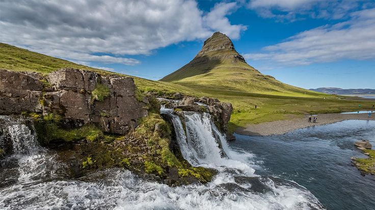 Snaefellsnes Peninsula, Iceland: Places Destinations, Grand Circles, Favorite Places, Beautiful Landscape, Beautiful Places, Kirkjufellsfoss Waterf, Iceland Travel, Circles Flexibility, Snaefellsn Peninsula