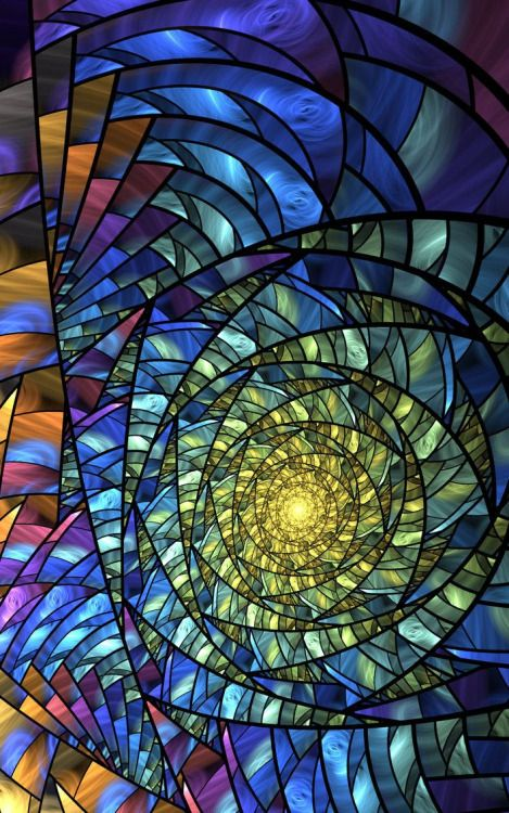 Stained glass | Mesmerizing - easy to lose ones self i the detail |