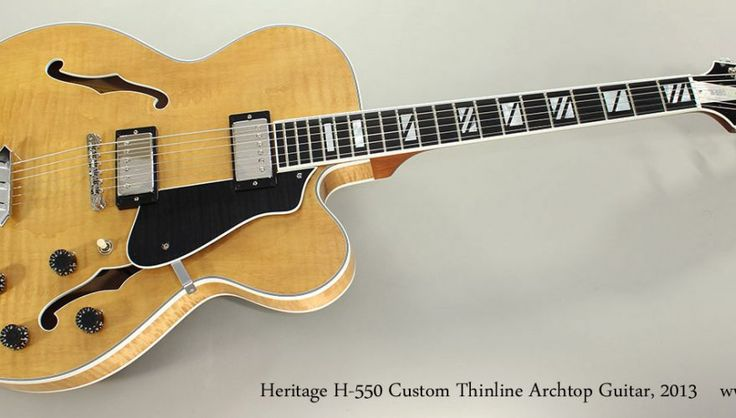 Beautiful vintage & used Archtop & Thinline guitars for sale. Expert service. Phenomenal instruments. Buy online, or in store. Worldwide shipping!