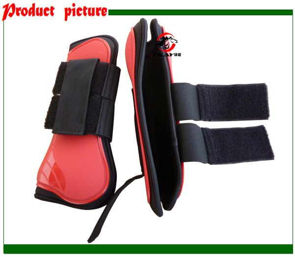 Free shipping horse  Neoprene tendon  boots,PU  shell.Horse jumping protection pair(AC70231)