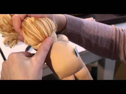 Geniale Videos: Puppenkonstruktion, Puppengesicht, Haare Sewing Club – Bamboletta