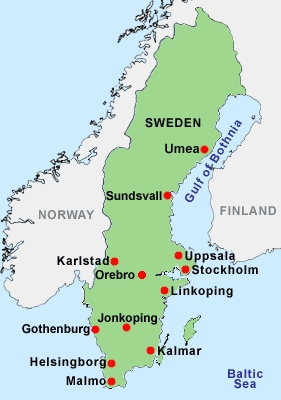 Best Sweden Map Ideas On Pinterest Sweden Stockholm And Map - Sweden big map