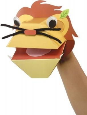Lion Paper Puppet project