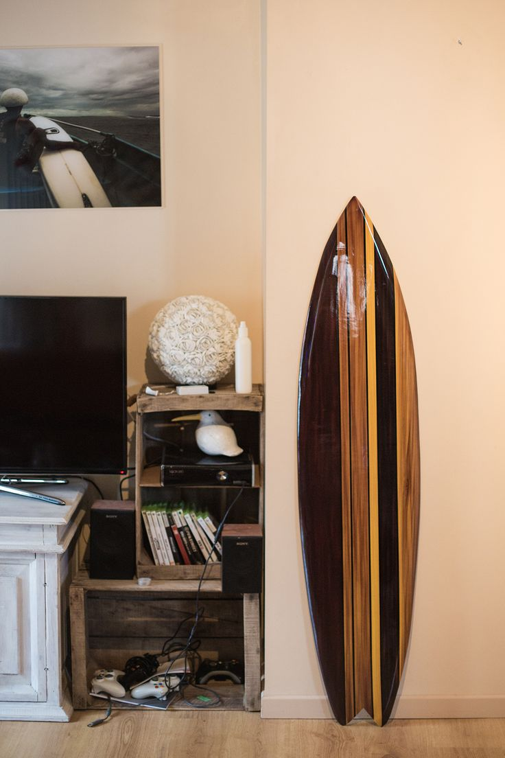 Retro fish surfboard #surf #retro #surfboard #decoration