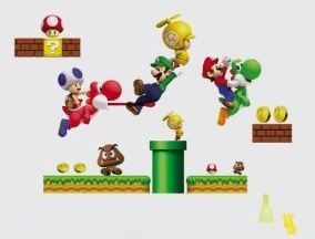 Removable Super Mario Wall Decals Only $7.97 Shipped!