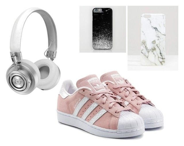 whites by lucy-mayday on Polyvore featuring moda, adidas Originals, Signature and Master & Dynamic
