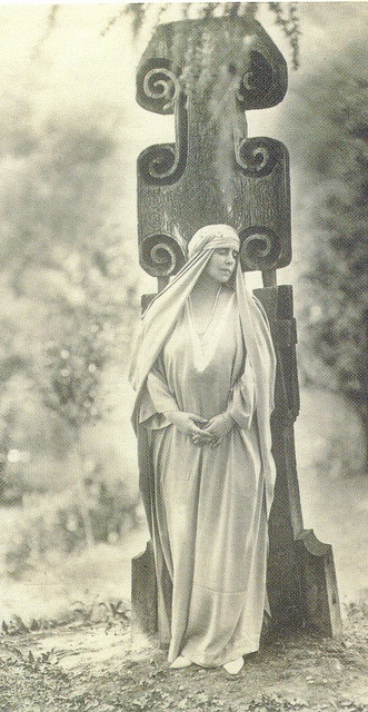 Queen Marie of Romania.  Is this real?