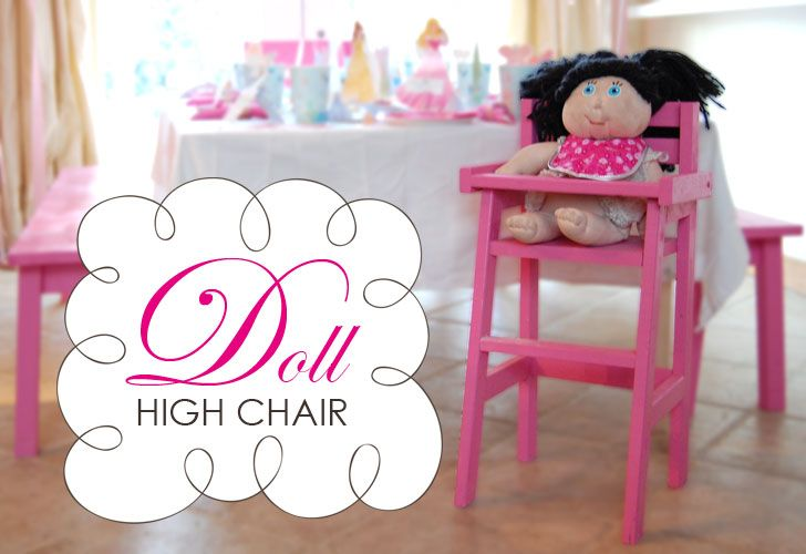 Doll High Chair Plans I Really Need To Learn How To Build