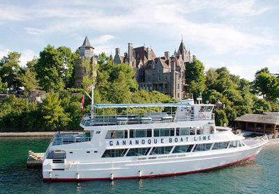 Gananoque Boat Line 1000 Islands Gananoque Ontario East Canada
