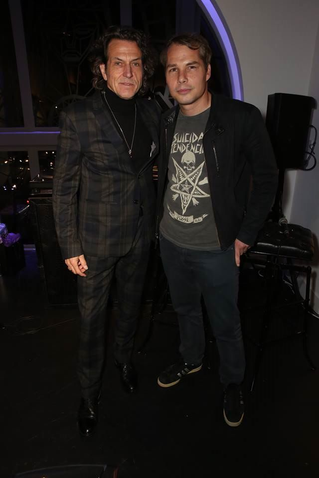 Stephen Webster and Shepard Fairey