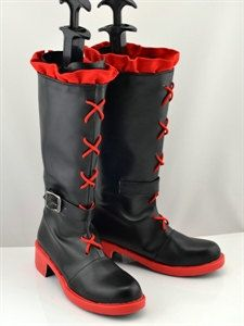 RWBY RWBY-Red Trailer Ruby Cosplay Boots on Etsy, $59.00