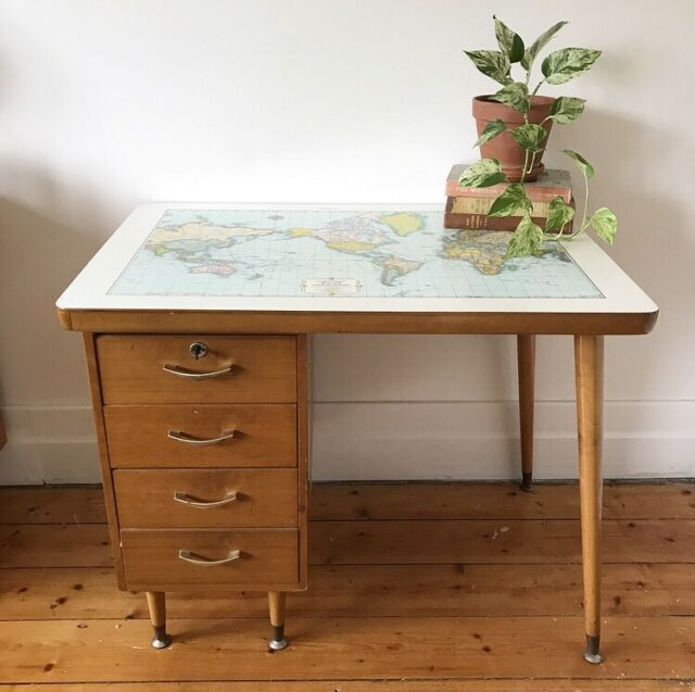 Map Top Desk Cro Furniture Desks