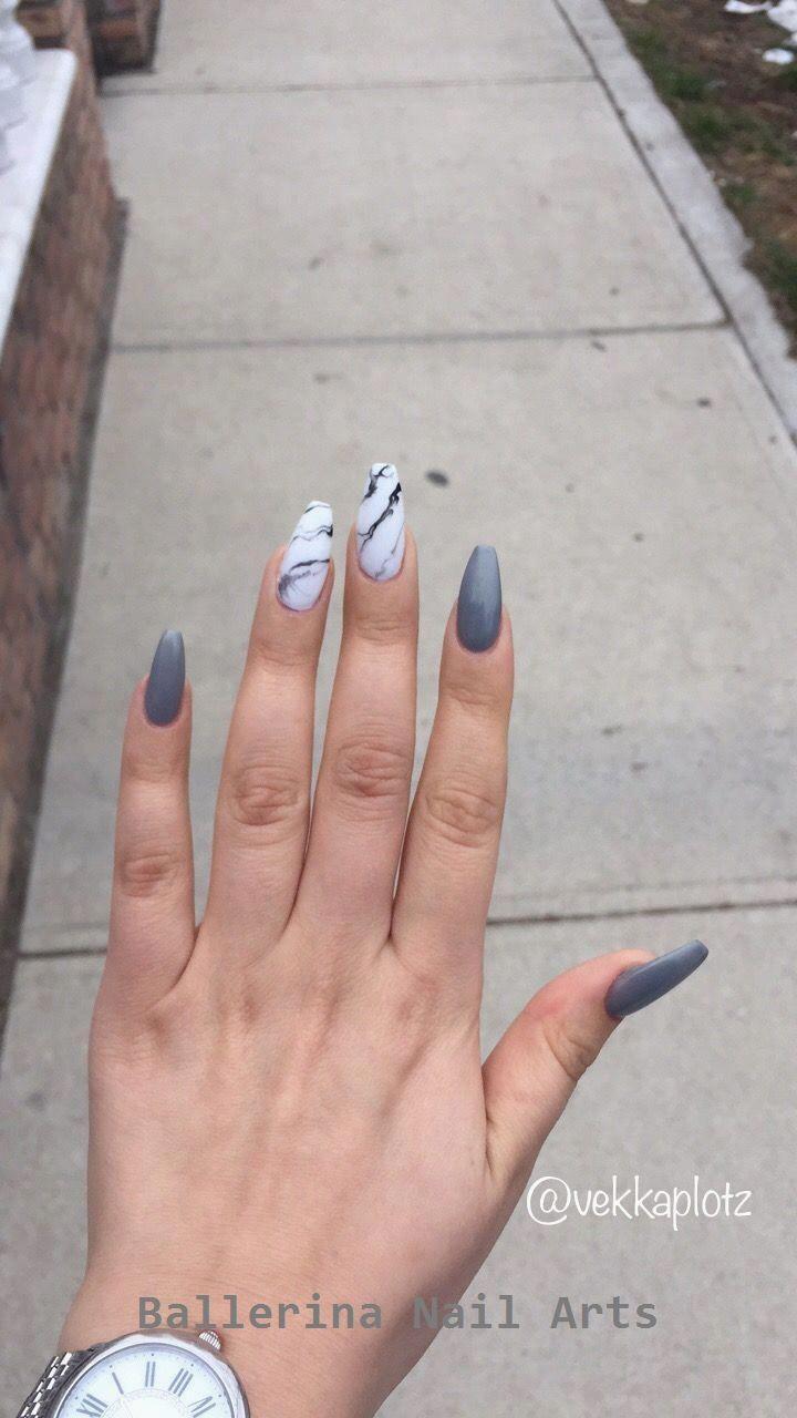Trending Ballerina nails designs #naildesign #ballerinanail